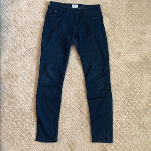 Hudson Dark Mid-rise Skinny Jean 25